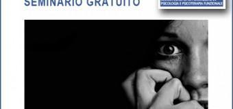 """[MILANO] Seminario Gratuito """"Attacchi di panico"""" DAP"""