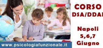 [NAPOLI] – Sulle problematiche dell'apprendimento in età evolutiva, deficit di attenzione e iperattività (DSA/DDAI)