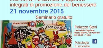 [Seminario Gratuito] Palermo-La Dipendenza: Intervento Funzionale e Approcci Integrati