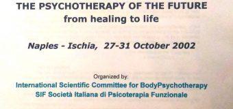 Luciano Rispoli psicoterapeuta: ringraziamenti per il 6° Congresso di BodyPsychotherapy