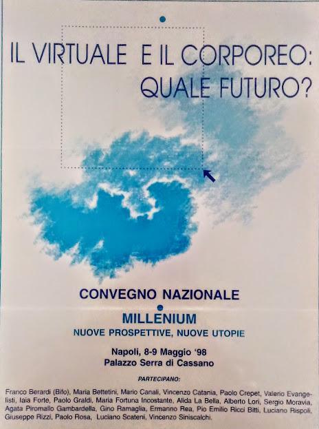 """Luciano Rispoli psicoterapia : Convegno """"Il virtuale e il corporeo: quale futuro?"""""""