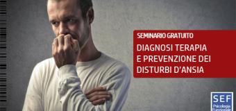[SARNO(SA)] Diagnosi Terapia e Prevenzione dei disturbi d'ansia