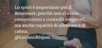 Luciano Rispoli Psicologo: Abuso di controllo e sforzo nello Sport.