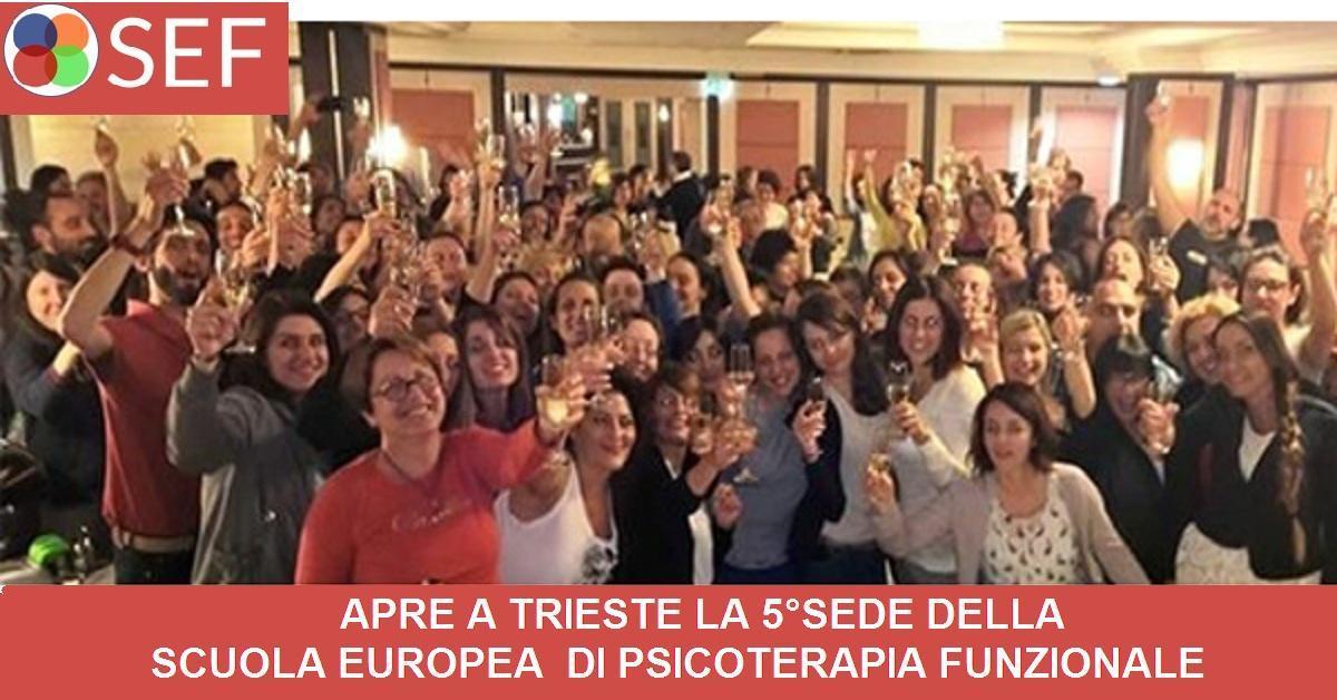 Scuola di Psicoterapia Funzionale Trieste. Apre la 5° sede