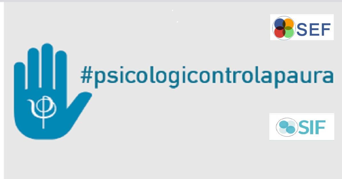 #Noicisiamo #psicologicontrolapaura