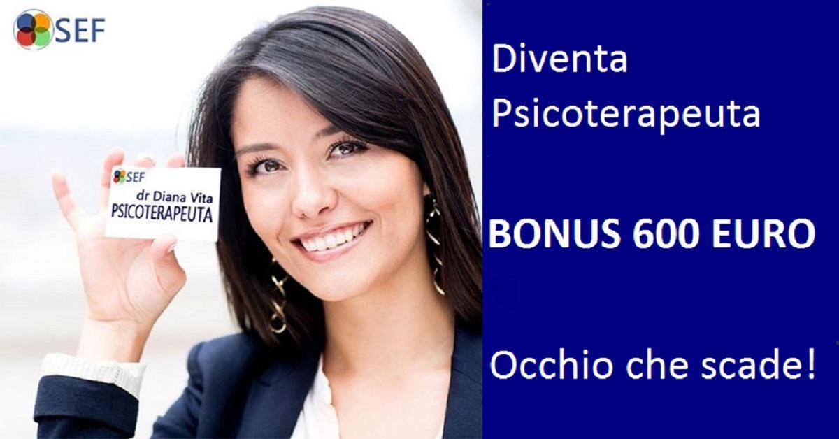 Scuola di Psicoterapia – Bonus 600 euro