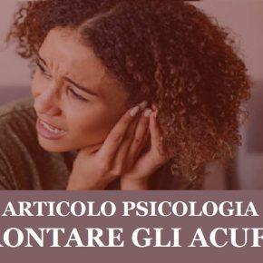 psicologia come affrontare l'acufene