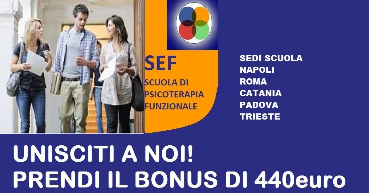 Bonus 440 euro – Scuola di Psicoterapia