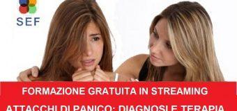 Formazione gratuita in Streaming- DISTURBI DI ATTACCHI DI PANICO