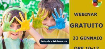 Webinar Gratuito- L'infanzia e l'adolescenza nell'approccio Neo-Funzionale
