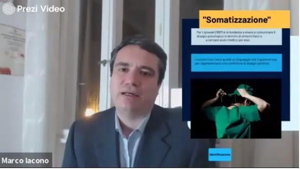 Marco Iacono Psicoterapeuta: Disturbo da sintomi somatici e l'intervento sui processi psicocorporei